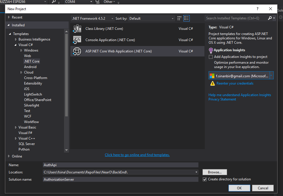 Net Core 2 IdentityServer4 Example - OpenId OAuth2